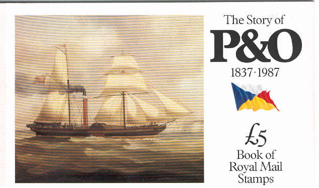 P&O booklet: WILLIAM FAWCET built in 1828  as a wooden paddle steamer
